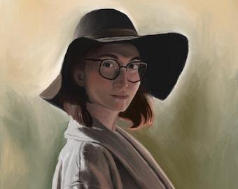Portrait Painting, Custom