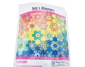 Complete Pattern and Paper Piece Set for Tula Pink's Bloomers
