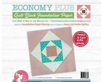 "Lori Holt Quilt Block Foundation Paper - Economy Plus - 12"""