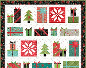 SNOWED IN SAMPLER Quilt Pattern by Heather Peterson