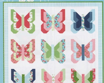 SOCIAL BUTTERFLY Quilt Pattern for Lella Boutique