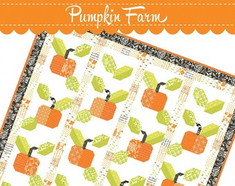 Pumpkin Farm Quilt Pattern by Joanna Figueroa for Fig Tree Quilts