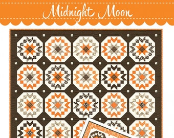 Midnight Moon Quilt Pattern by Joanna Figueroa for Fig Tree Quilts