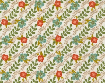 Songbook by Fancy That Design House for Moda   45524-11 Trellis Climb in Dove Wing   Continuous 1/2 yd Increments OR Fat Quarter