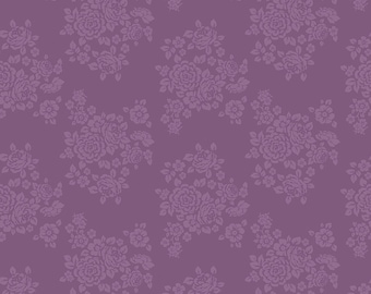 ANNE of GREEN GABLES by Riley Blake -  C10606 Rose - Grape - 1/2 yd Increments or Fat Quarters, Cut Continuously