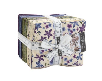 """VIOLET HILL by Holly Taylor for Moda -  Fat Quarter Bundle - 31 pieces - 18"""" x 21"""" cuts"""