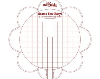 Seams Sew Easy by Lori Holt for Riley Blake -  Red