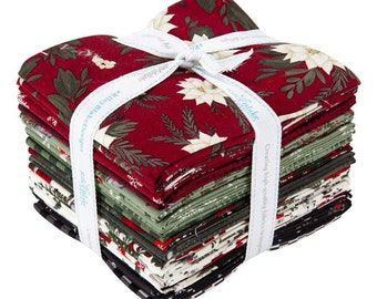 Farmhouse Christmas by Riley Blake -  Fat Quarter Bundle (21 pieces)