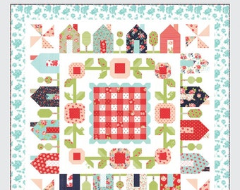 SPRINGVILLE Quilt Pattern by Camille Roskelley for Thimble Blossoms