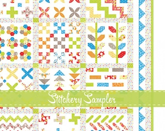 STITCHERY SAMPLER Quilt Booklet by Joanna Figueroa for Fig Tree Quilts