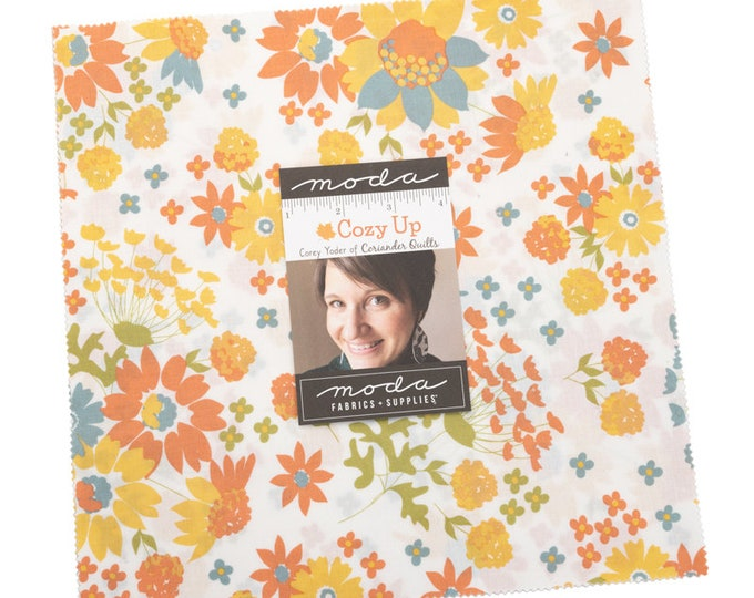 """Cozy Up by Corey Yoder for Moda -  10"""" Layer Cake - Precut 10"""" x 10"""" Squares - 42 pieces"""
