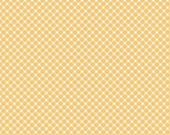AUTUMN LOVE by Lori Holt for Riley Blake -  C7367 Polka Dots Yellow - 1/2 yd Increments, Cut Continuously OR Fat Quarter