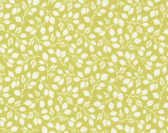 Pumpkins & Blossoms by Fig Tree for Moda -  20421-14 Rosehips Sprout - 1/2 yd Increments, Cut Continuously OR Fat Quarter