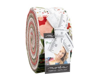 """Hustle and Bustle by BasicGrey for Moda -  Jelly Roll - Precut 2.5"""" Strips - 40 pieces"""