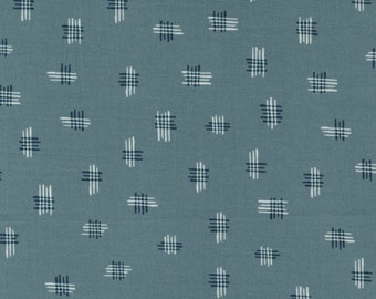 Songbook by Fancy That Design House for Moda   45526-14 Tally Toss in Anchored   Continuous 1/2 yd Increments OR Fat Quarter