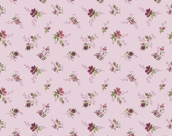 ANNE of GREEN GABLES by Riley Blake -  C10602 Bouquet - Lavender - 1/2 yd Increments or Fat Quarters, Cut Continuously