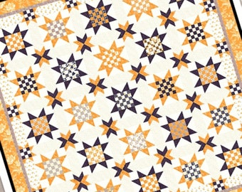 CHECKERBOARDS ANDS STARS Quilt Pattern by Joanna Figueroa for Fig Tree Quilts