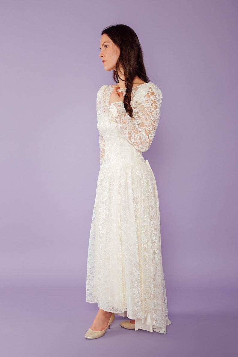 50/% SALE La Aurore Lace Wedding Dress