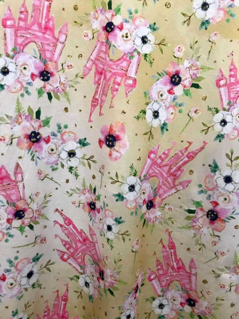 Disney dress for women Disney print ladies Pink Castle dress