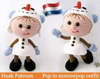 Sneeuwpop Haken Etsy