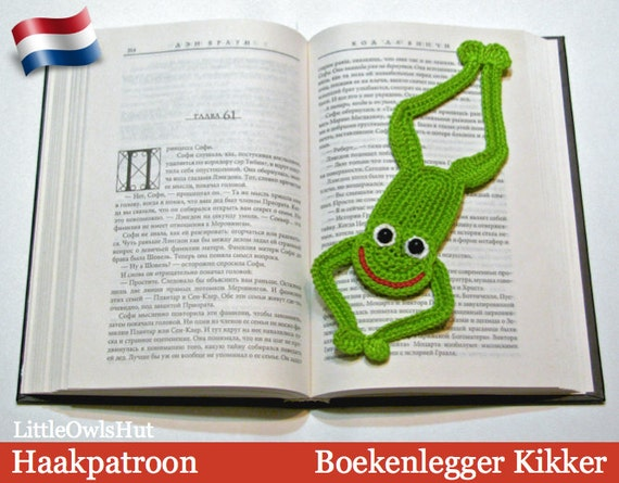 061nly Boekenlegger Kikker Amigurumi Haakpatroon Pdf By Etsy