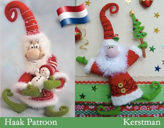 036nly Kerstman Haak Patroon Amigurumi Pdf By Borisenko Etsy Etsy