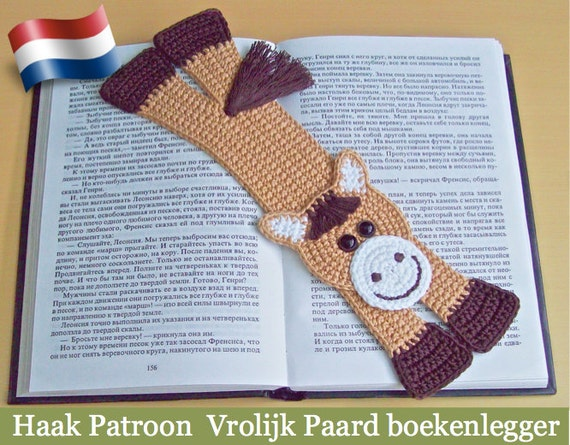 031nly Paard Boekenlegger Amigurumi Haak Patroon Pdf File By Etsy