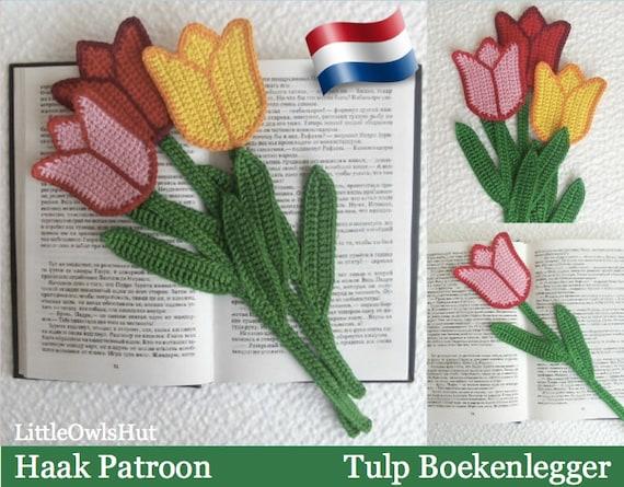 044nly Tulp Boekenlegger Amigurumi Haakpatroon Pdf By Etsy