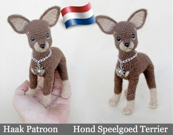 059nly Speelgoed Terrier Hond Haak Patroon Pdf File Etsy