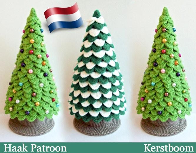 085nly Kerstboom Haak Patroon Amigurumi By Zabelina Etsy Etsy