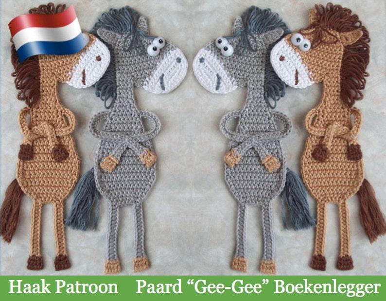025nly Paard Ge Ge Boeken Legger Amigurumi Haak Patroon Etsy