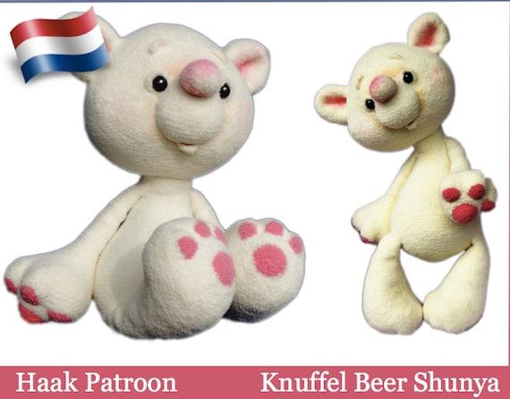 122nly Haak Patroon Knuffel Beer Shunya Amigurumi Soft Toy Etsy