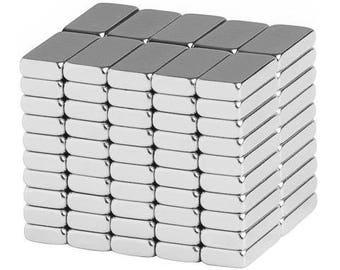 10 x 5 x 2 mm Neodymium terre Rare bloc aimants N48 (paquet de 100)
