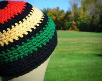 Rasta Beanie Hat | Ready to Ship | Vegan Friendly | Unisex