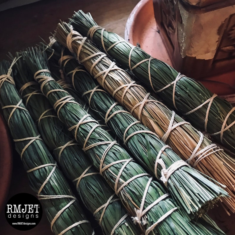 Sweet Grass Bundle  Organic  Home grown on our land  image 0