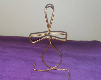 Free form Copper Figure