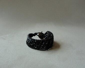 Sarana Swarovski Cuff Bracelet