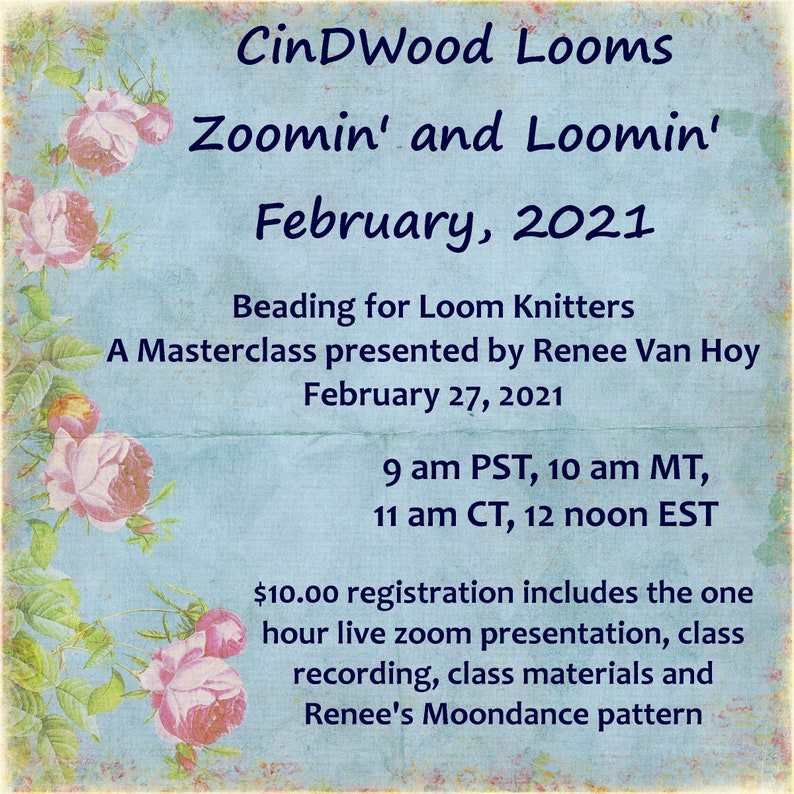 Masterclass on Beading for Loom Knitters image 0