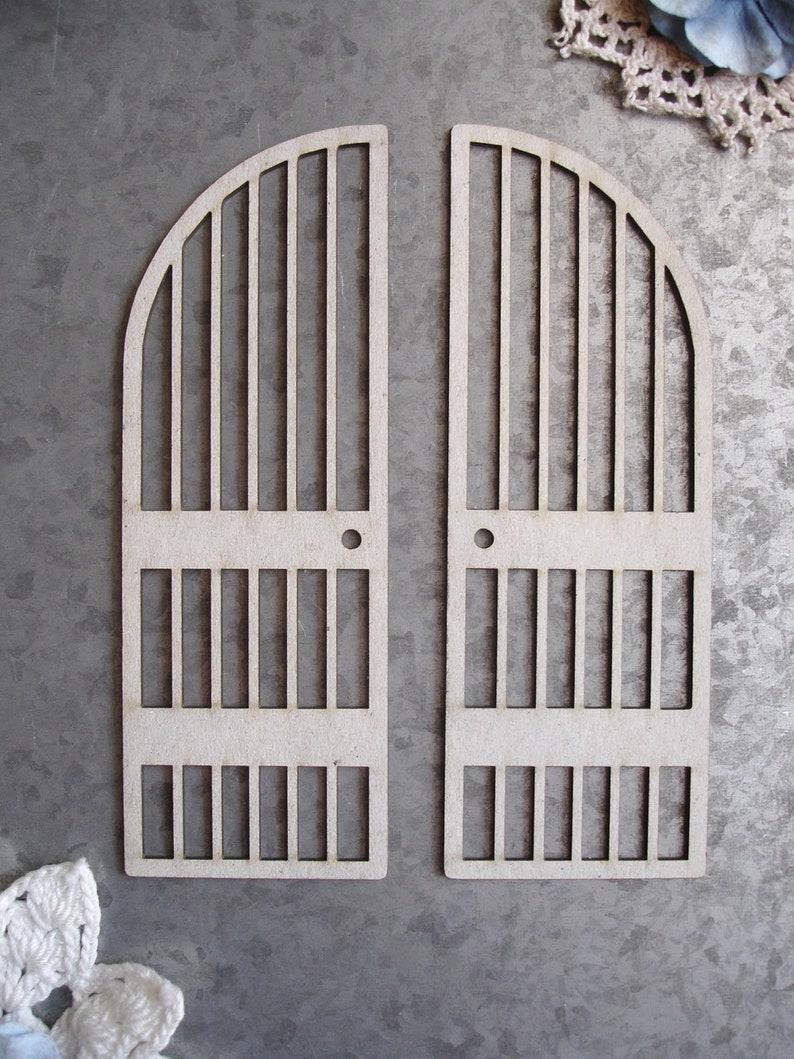 Metal Gate Scrapaholics Chipboard