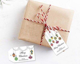 elegant gift tag christmas party printable elegant etsy