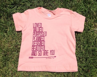 Indie Baby Girl LOVED Graphic tee