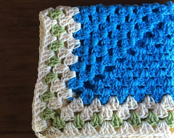 Baby Blanket Newborn Baby Delicate, Cozy Granny Square Newborn Baby Blanket - Great Photography Prop.
