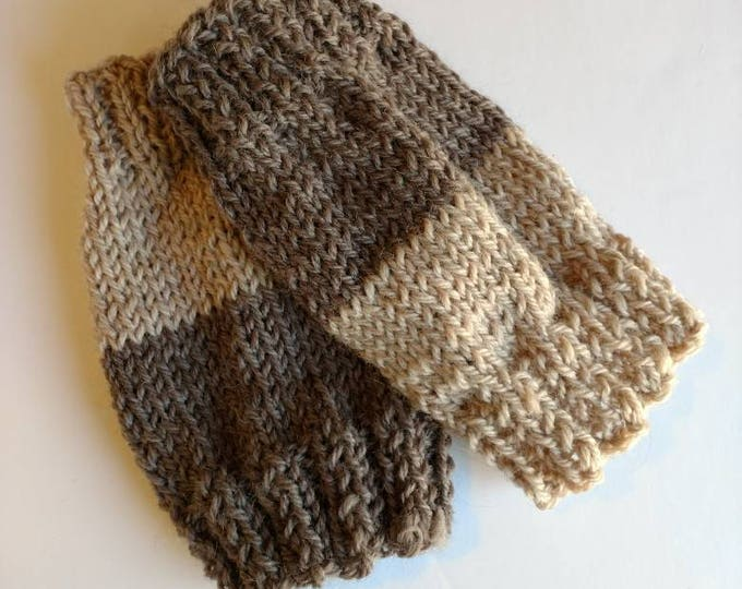 Featured listing image: Cuffs, two color brown Boot Toppers, One Size Fits All Women Accessories, winter leg warmers