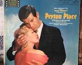 Peyton Place Soundtrack LP Vinyl Record Original Press