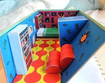 Hey Arnold! DIY Paper Diorama