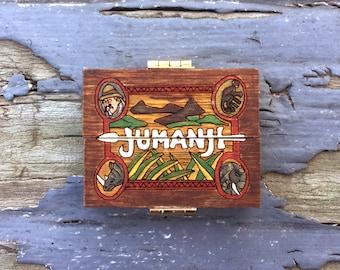 1:12 Miniature Jumanji Game Board Replica Prop- Scale Artisan Dollhouse