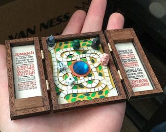 Preorder- 1:6 Miniature Jumanji Game Board Replica Prop- Play Scale Artisan Dollhouse