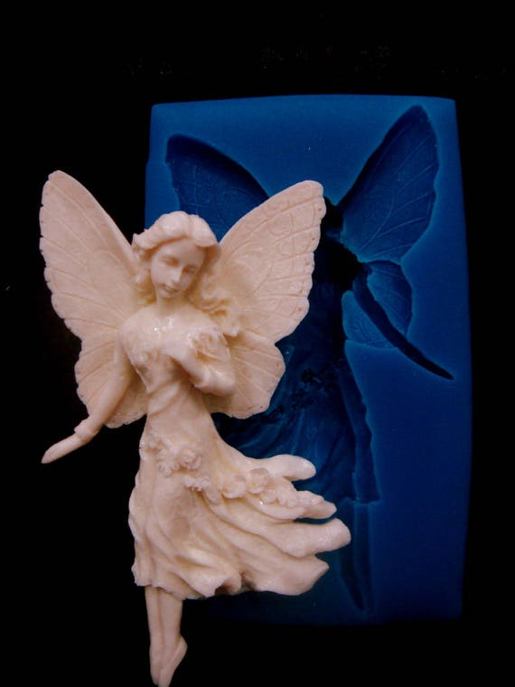 """/""""Angel/"""" silicone mold for soap and candles making mould molds"""