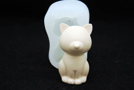 Silicone Mold Mould Chocolate Polymer Clay Soap Candle Wax Action Rabbit #3