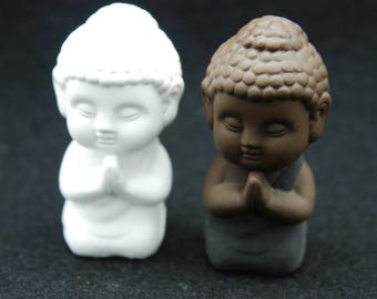Praying Buddha, Silicone Mold Chocolate Candle molds Ornament Mold Soap Moulds Polymer Clay Jewelry Soap Making Mold Melting Wax Resin